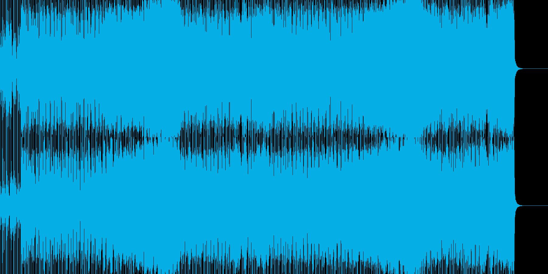 冬のフィールドイメージBGM・戦地に赴くの再生済みの波形