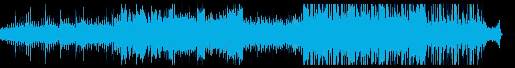 尺八メインの切ない和風曲の再生済みの波形