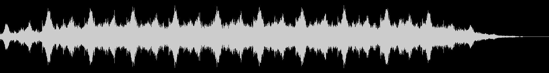 神秘的な雰囲気のアンビエント(背景音)4の未再生の波形
