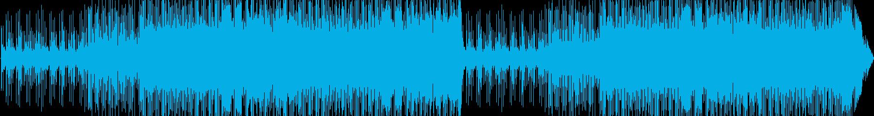 チップチューンによる可愛いポップスですの再生済みの波形