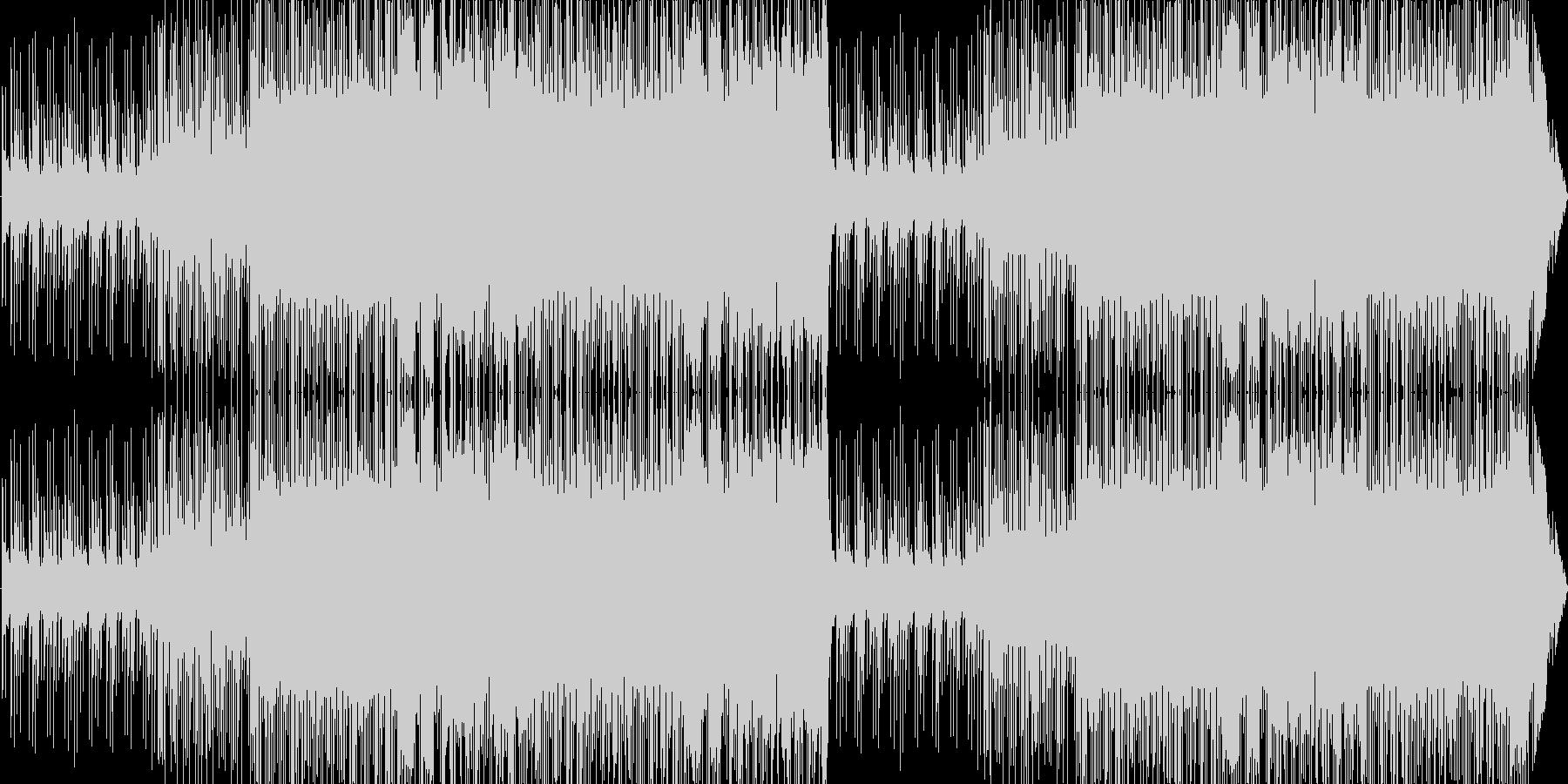 チップチューンによる可愛いポップスですの未再生の波形