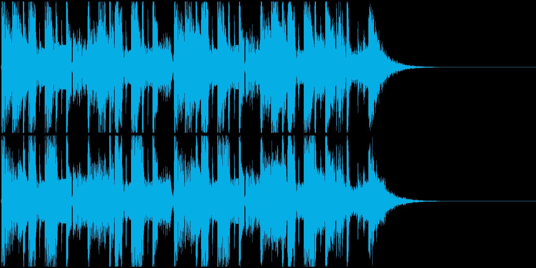 声を入れてラジオ等に!シャレオツ小品曲の再生済みの波形