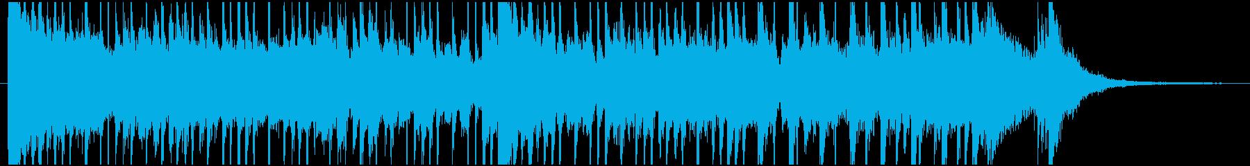 ED風の可愛いアニメ系ポップジングルの再生済みの波形