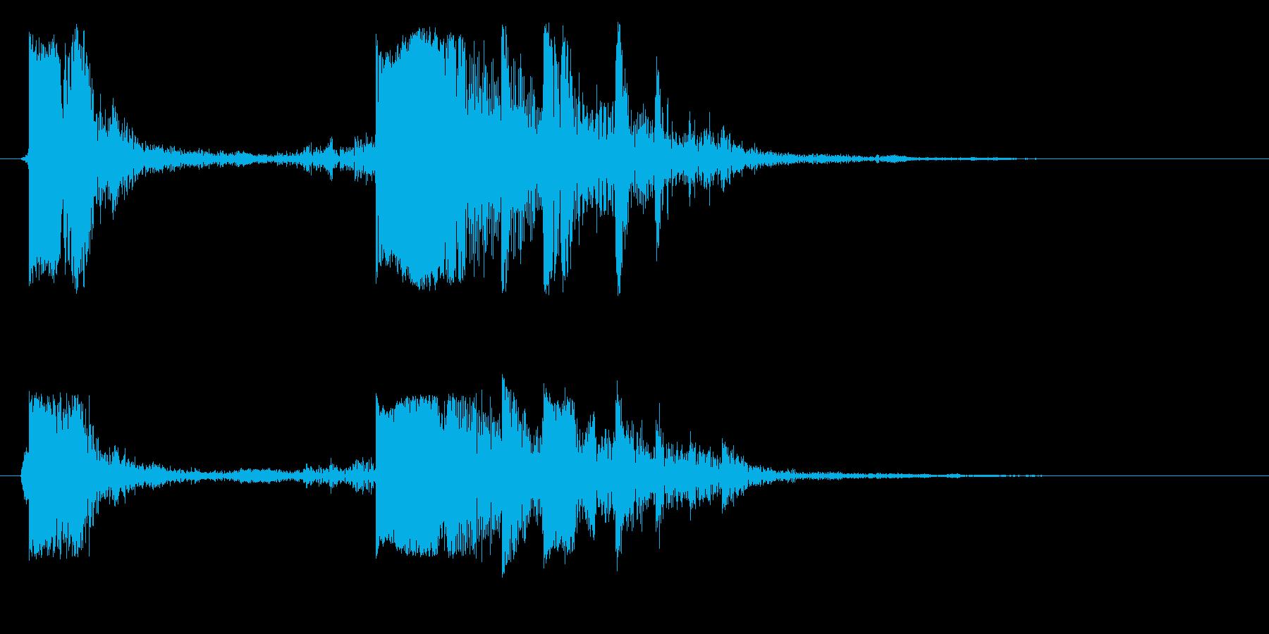 キンッカラ(ウインドウ移動)の再生済みの波形