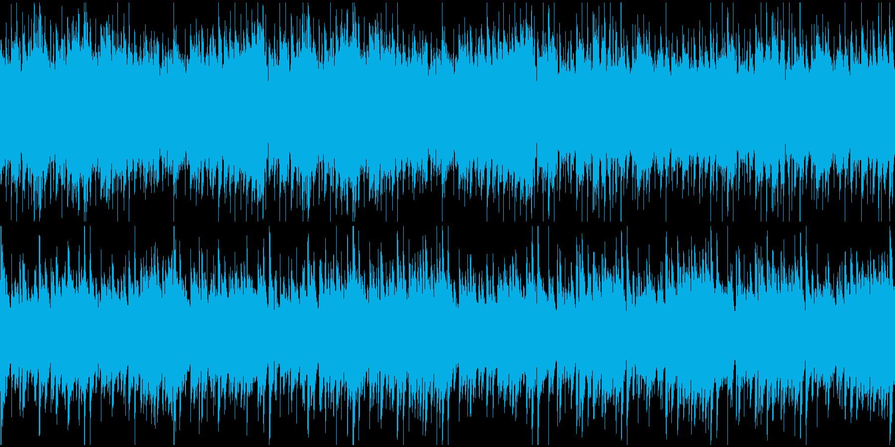 昔のイタリア映画風(ループ)の再生済みの波形