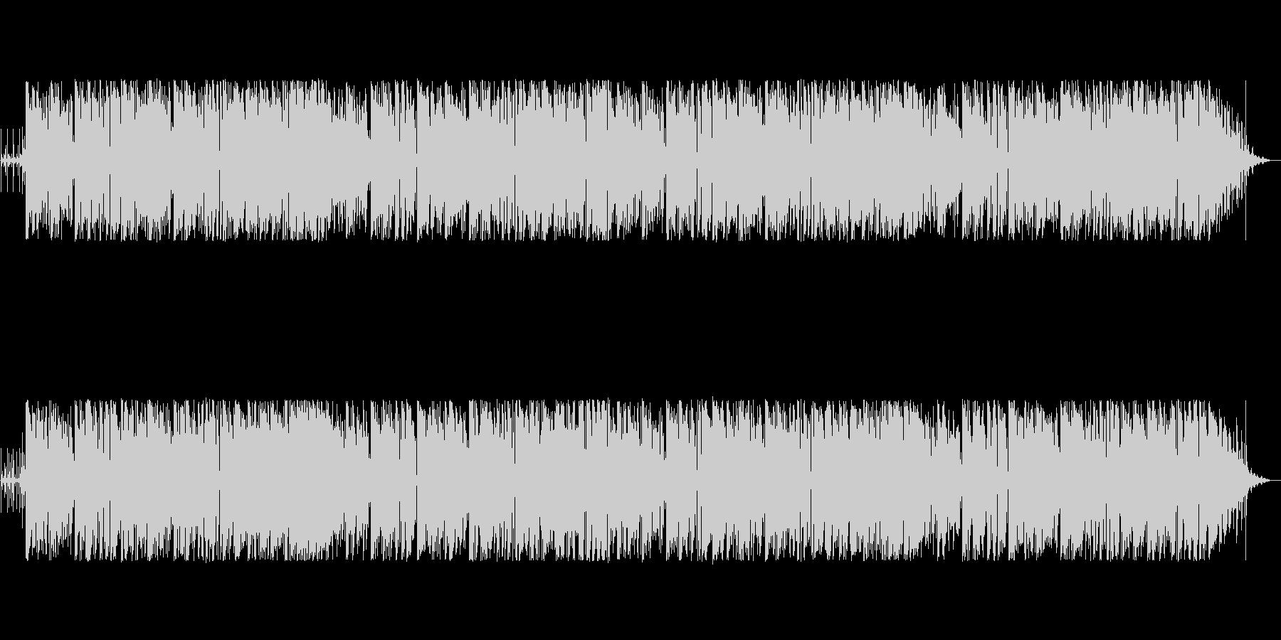 おしゃれなコードのボサノバ風ポップスの未再生の波形