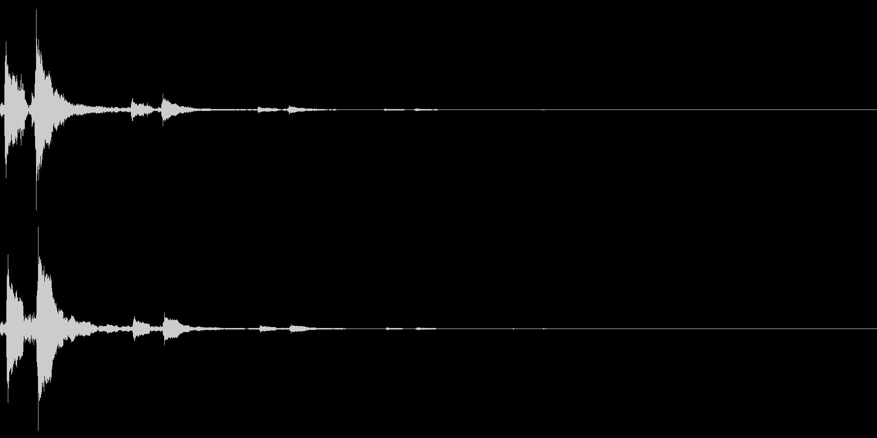 システム音32_シンセCHの未再生の波形