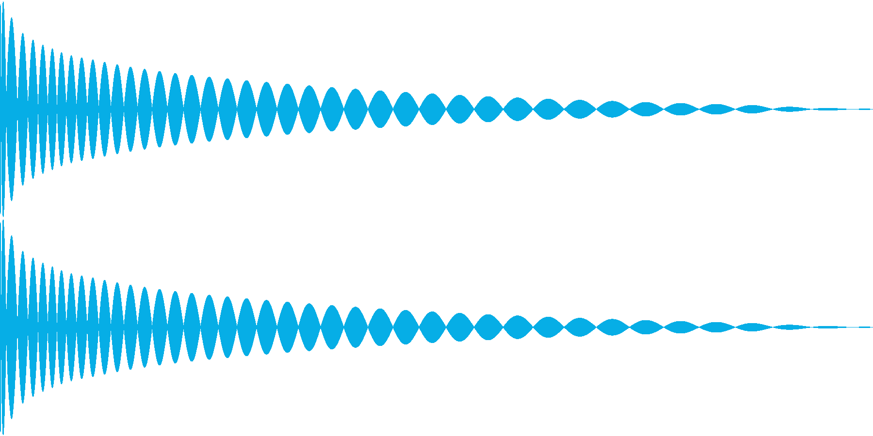 DTM Kick 9 オリジナル音源の再生済みの波形