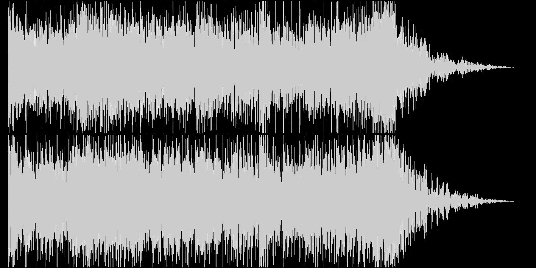 【オーケストラ】敵からの逃走・脱出の未再生の波形