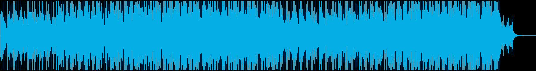 ポップ感動映像に ピアノとギターで爽やかの再生済みの波形