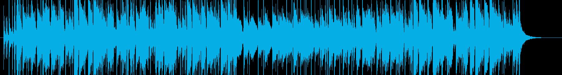 ジャズ風のジングルですの再生済みの波形