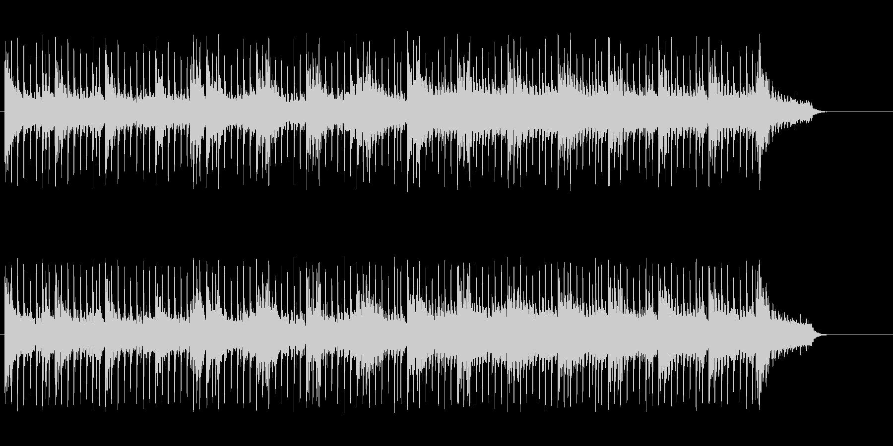スリリングでタイトな、エレクトロポップの未再生の波形