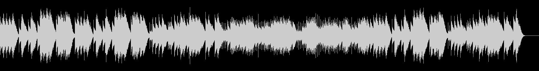 ト調のメヌエット (オルゴール)の未再生の波形