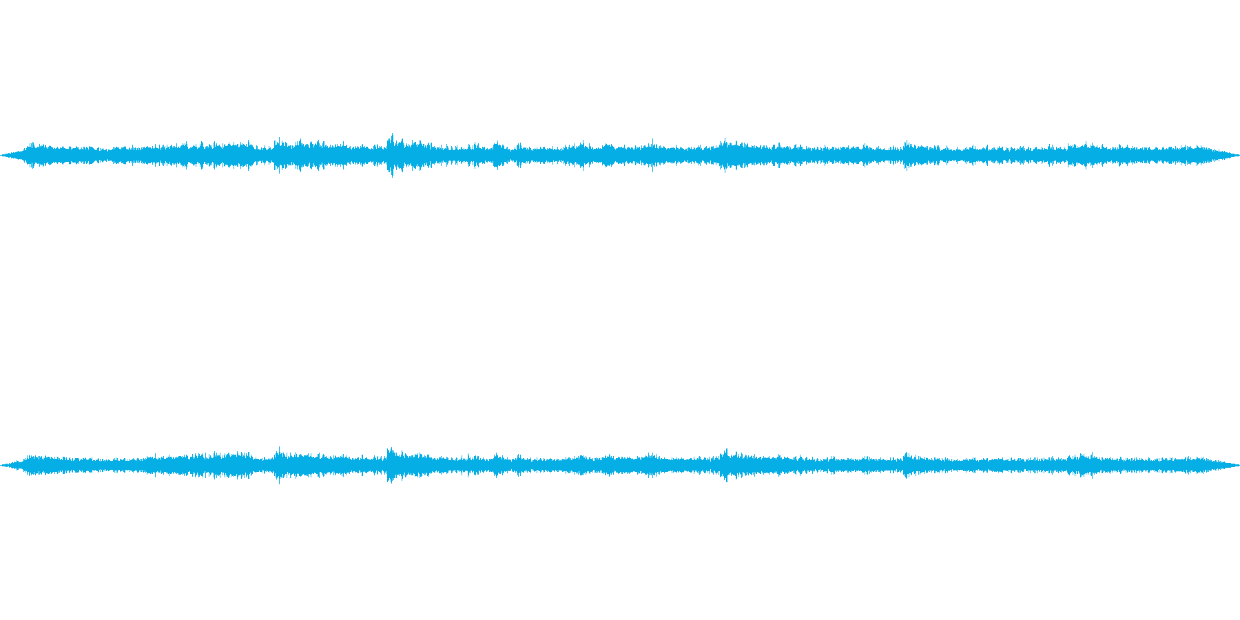 とんびの鳴き声ですの再生済みの波形