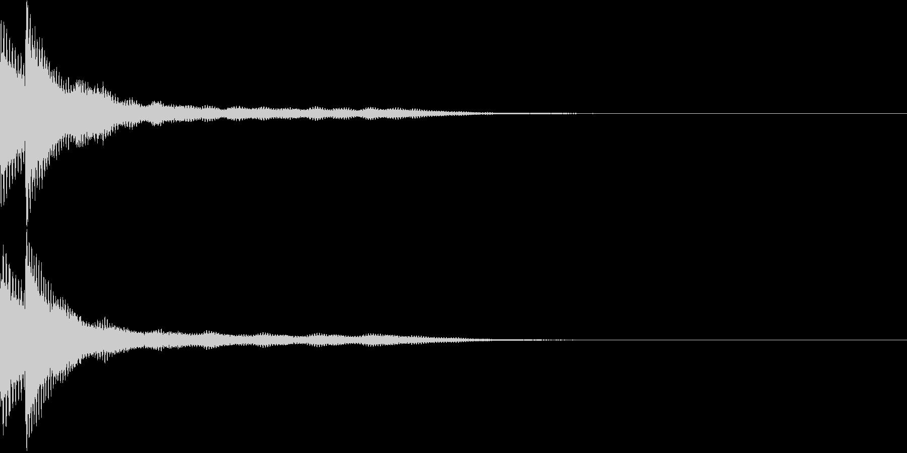 キラン2 アニメ ゆっくりキラ〜ンの未再生の波形
