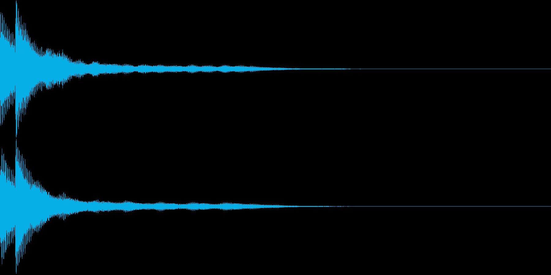 キラン2 アニメ ゆっくりキラ〜ンの再生済みの波形