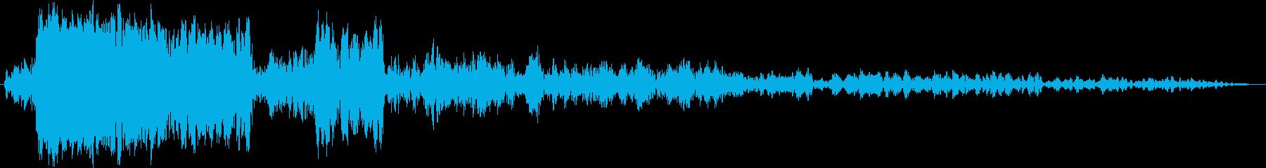 フォーッフォッフォ (星人の声)の再生済みの波形