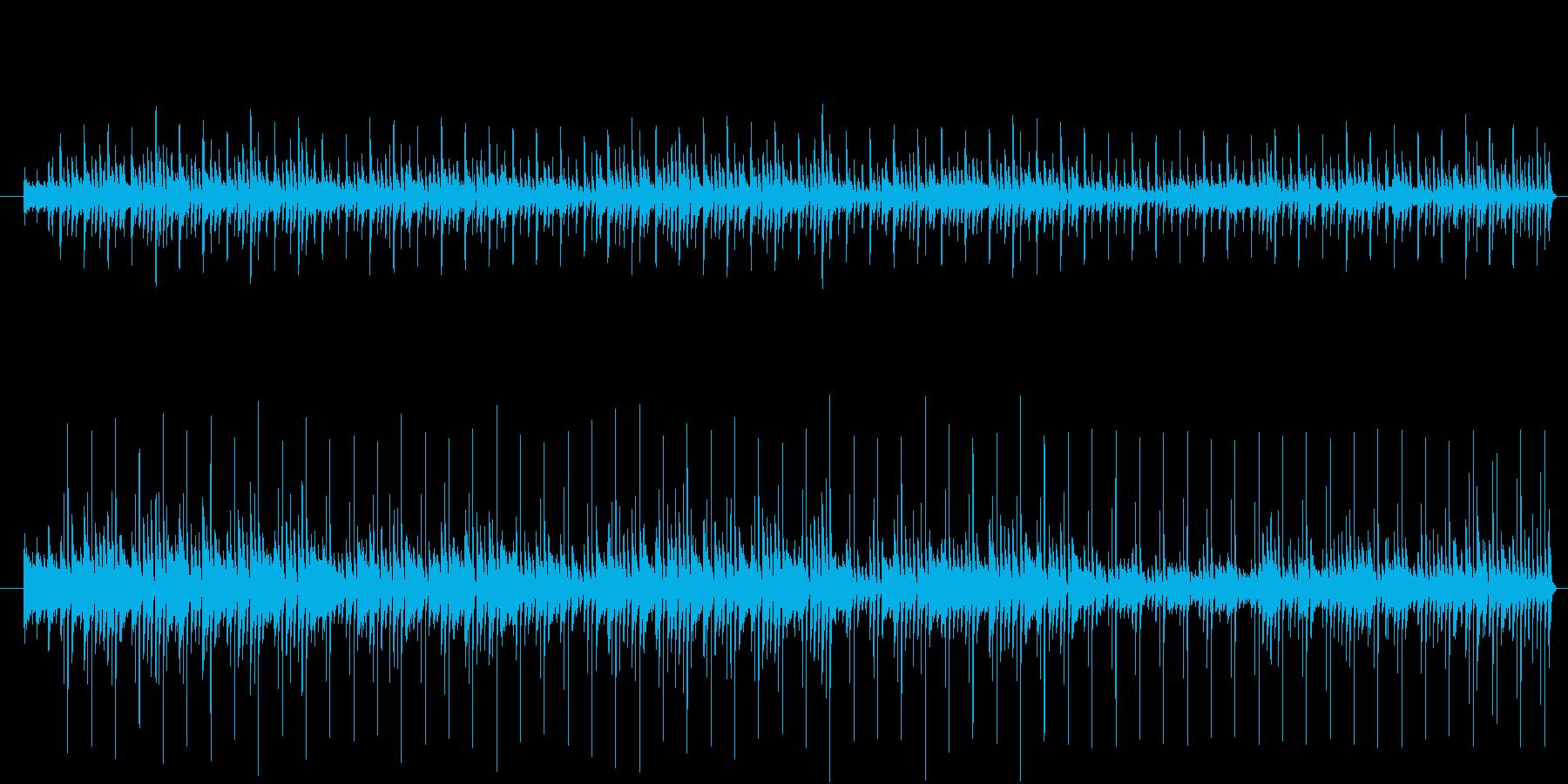ひなたぼっこミュージックの再生済みの波形