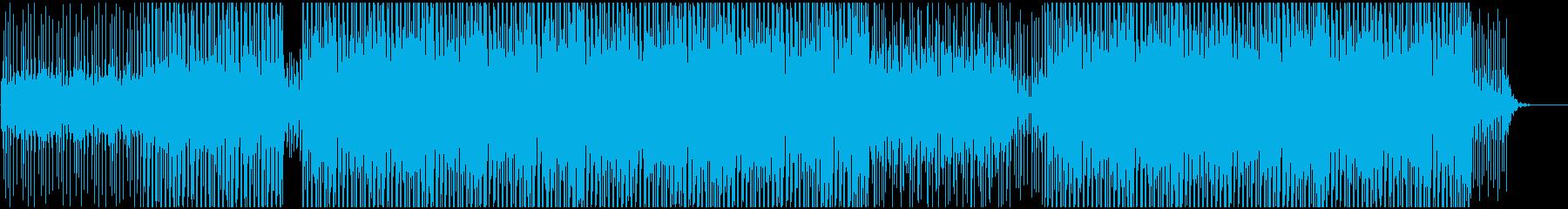 企業VPや映像に 適度なEDM風の音使いの再生済みの波形