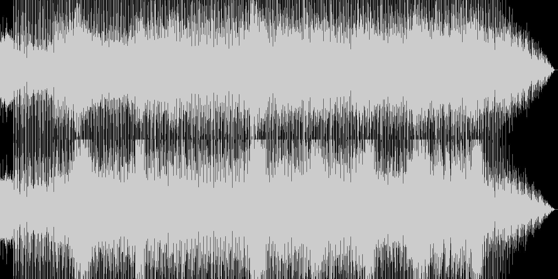 きらめくベル系ピアノ音が美しいBGMの未再生の波形