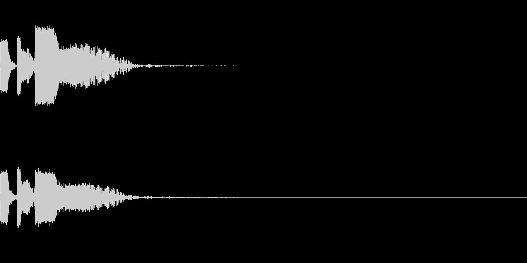 ショット_その2の未再生の波形