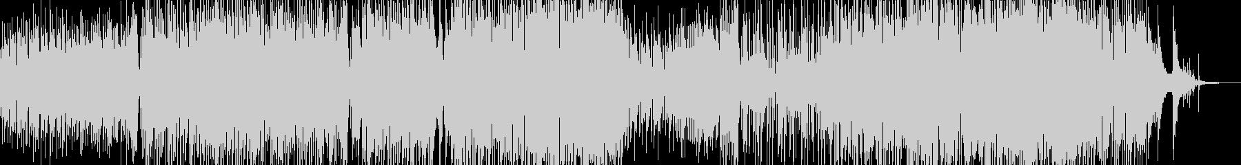 メルヘンチックなジャズワルツの未再生の波形