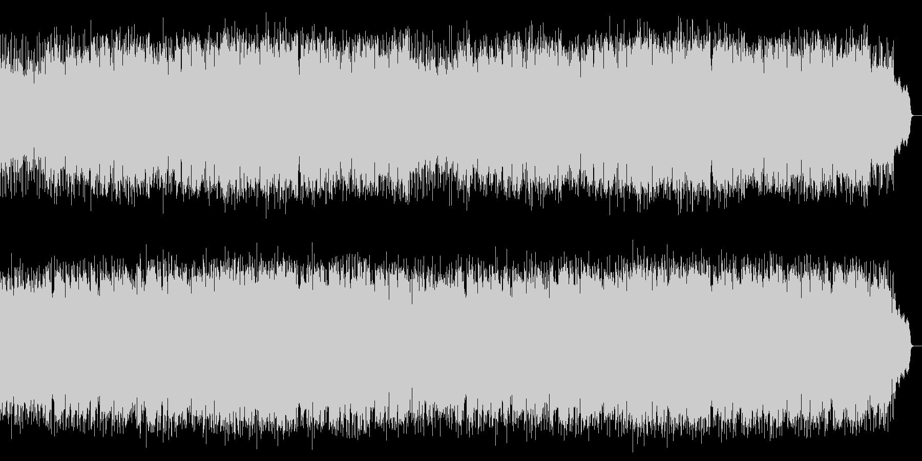3連の切ないロカバラ歌謡曲をSAXが演奏の未再生の波形