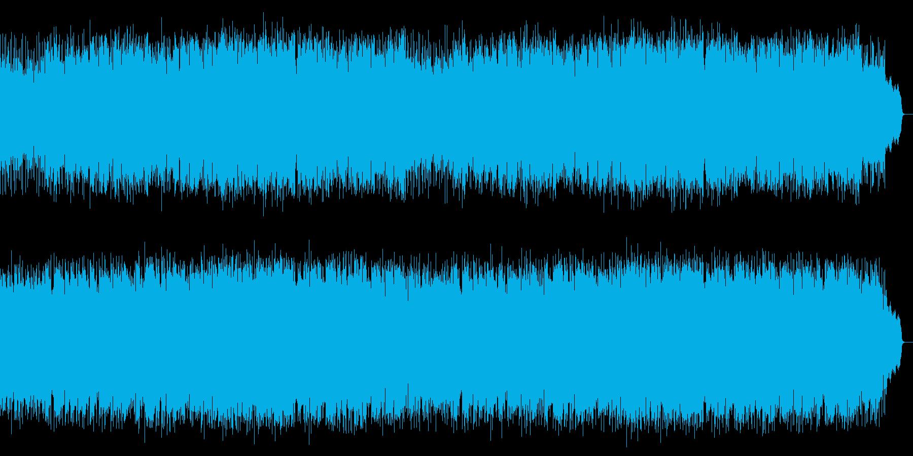 3連の切ないロカバラ歌謡曲をSAXが演奏の再生済みの波形