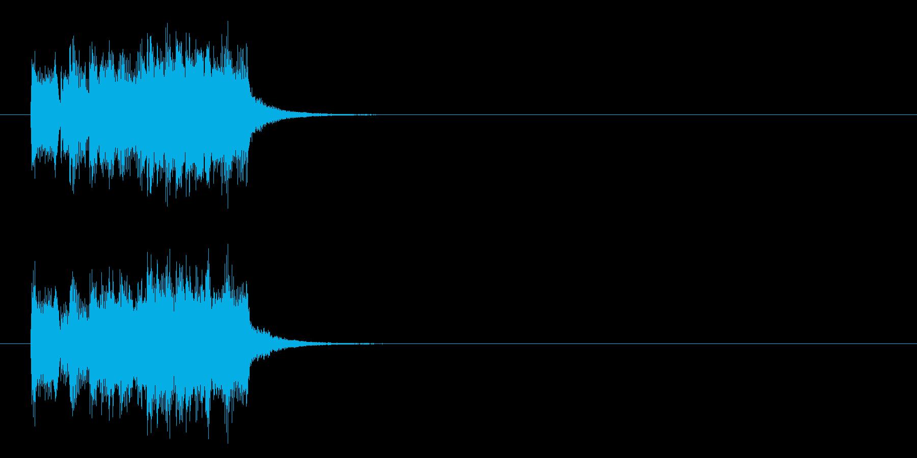 ジングル/ドキュメントの再生済みの波形