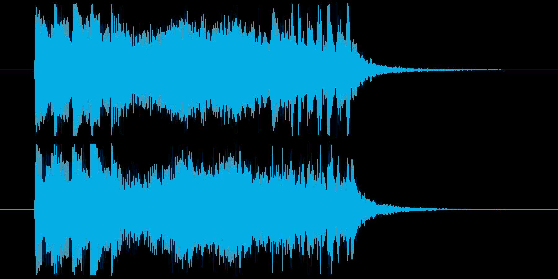 森をイメージしたショートジングル!の再生済みの波形