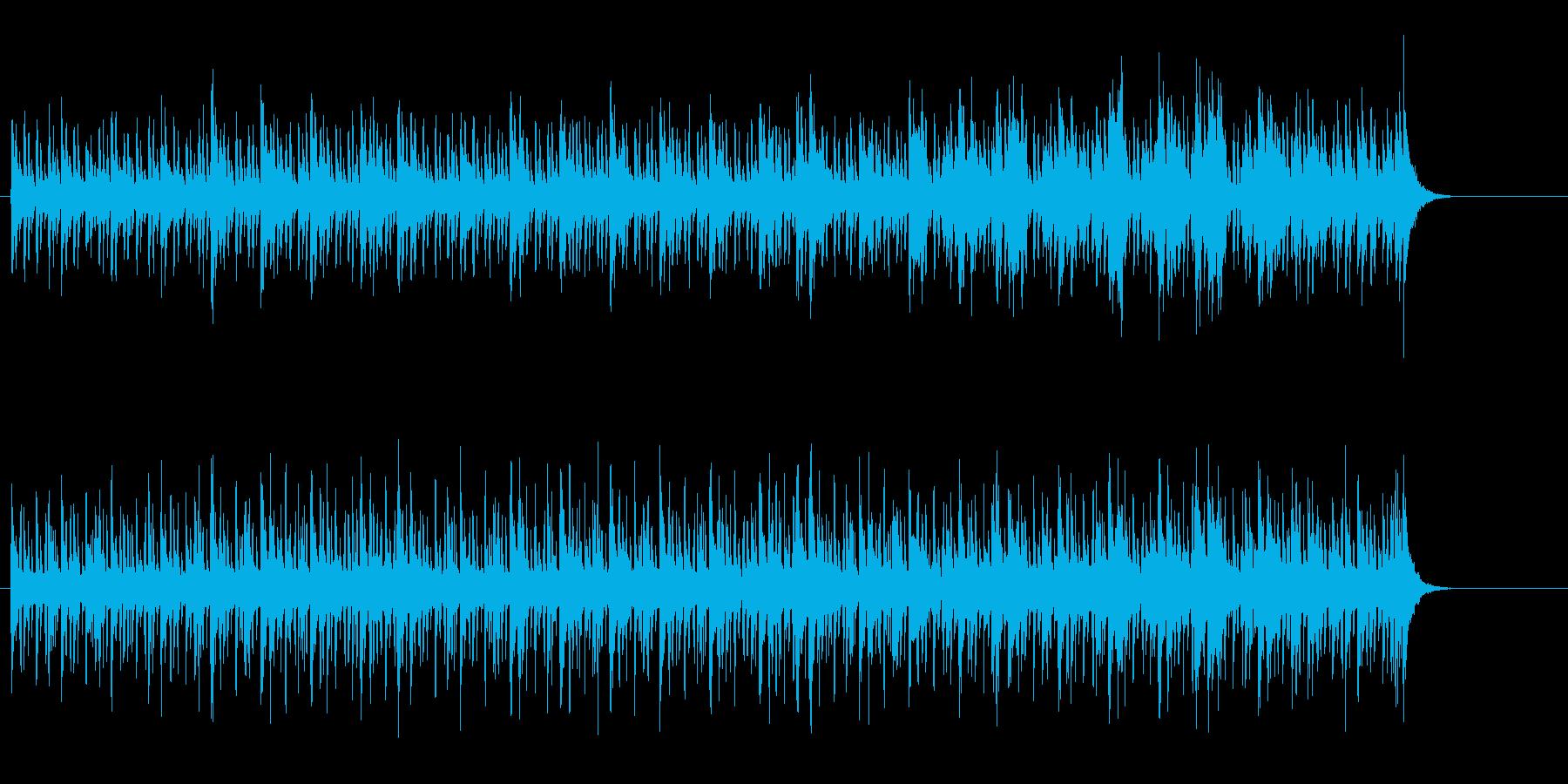 ワールドミュージック風、予告編の再生済みの波形
