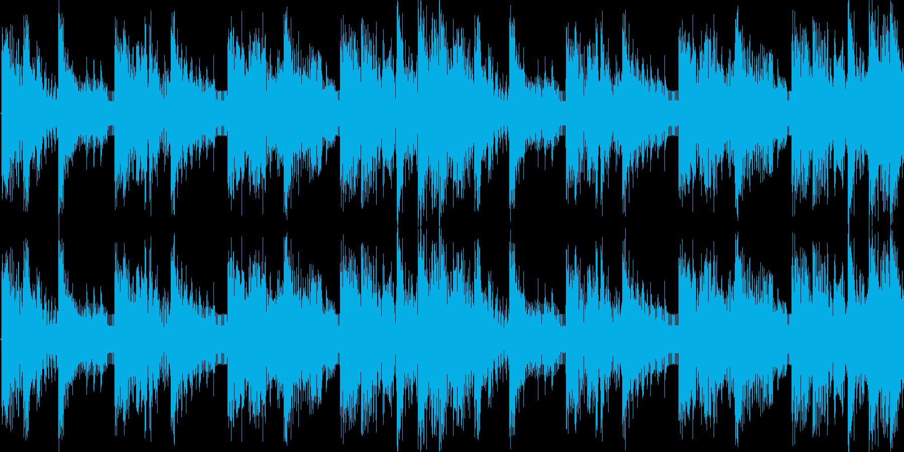 ボイス系どっぷりダブステップの再生済みの波形