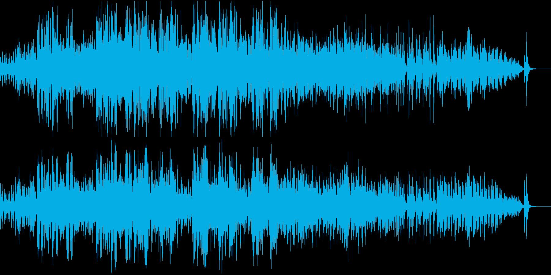 木管と弦楽器による有名曲のアレンジですの再生済みの波形