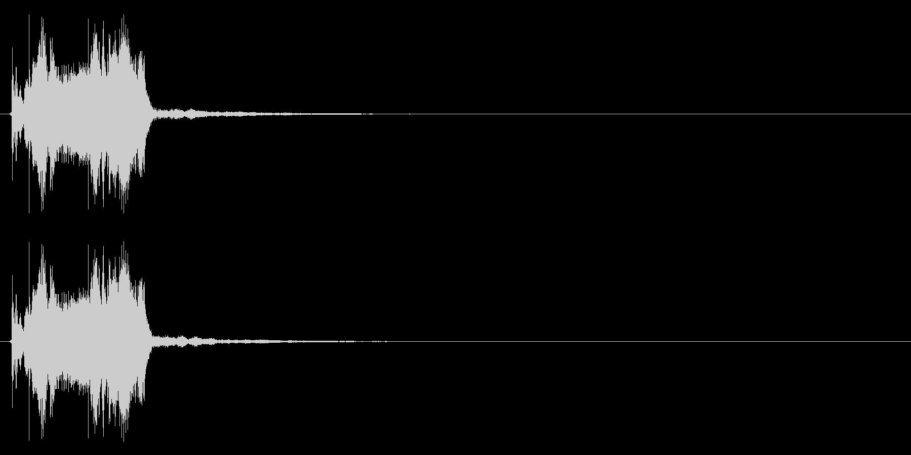 システム系ログオン音の未再生の波形