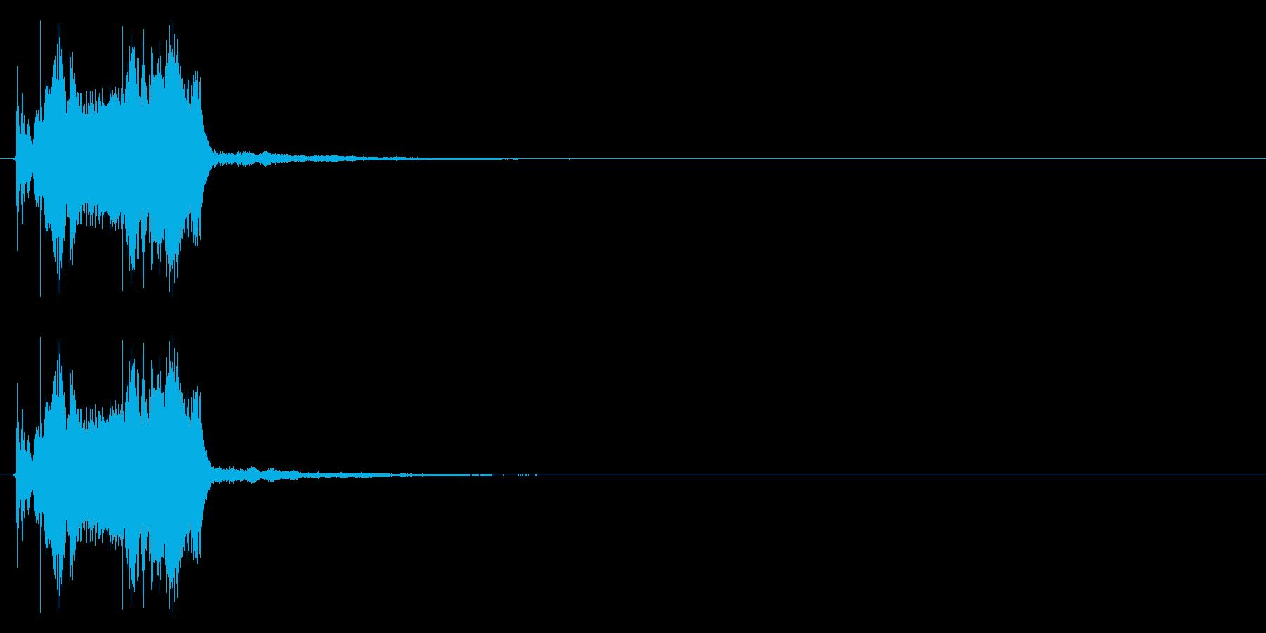 システム系ログオン音の再生済みの波形