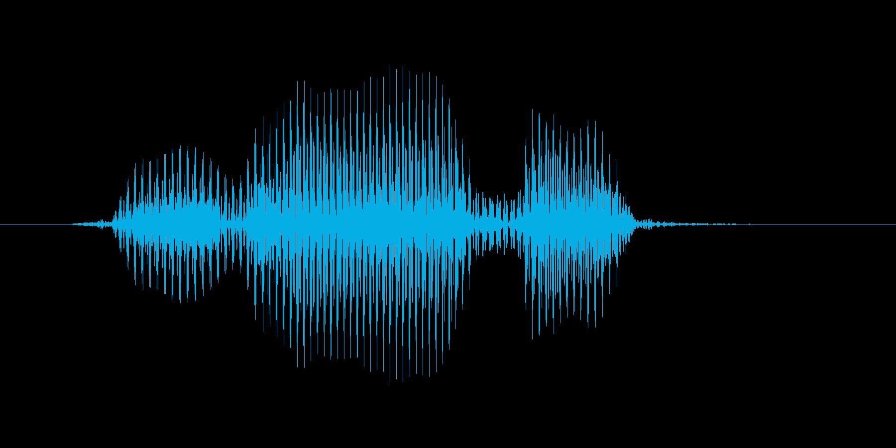 フォワードの再生済みの波形