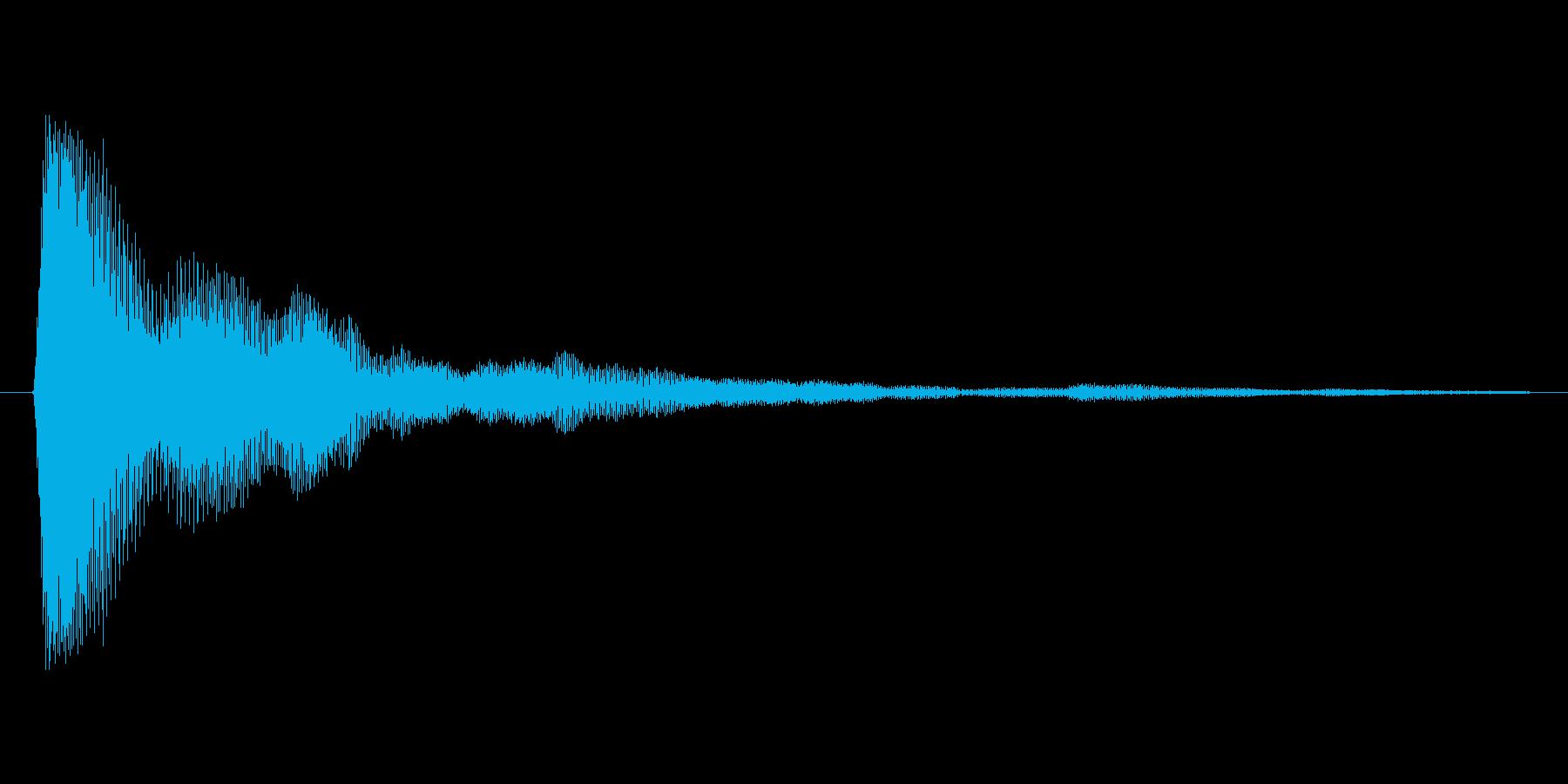 タップ.カーソル移動.クリック.決定13の再生済みの波形