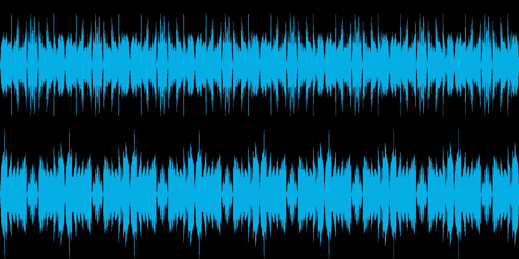 【不穏・悲しげなピアノ】の再生済みの波形