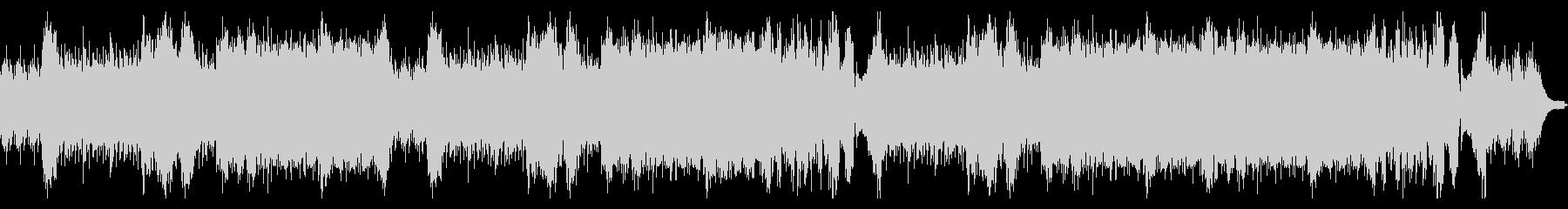 ピアノソロによる戦闘用BGMの未再生の波形
