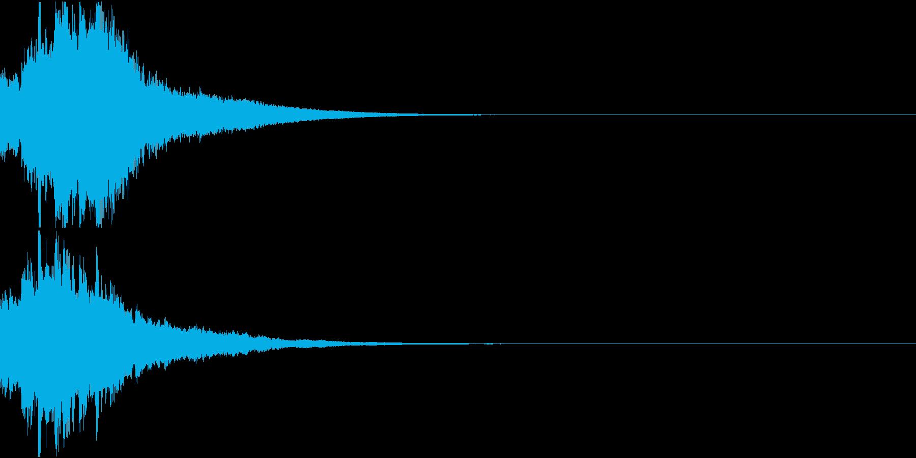クリスマス ジングルベル キラキラ 04の再生済みの波形