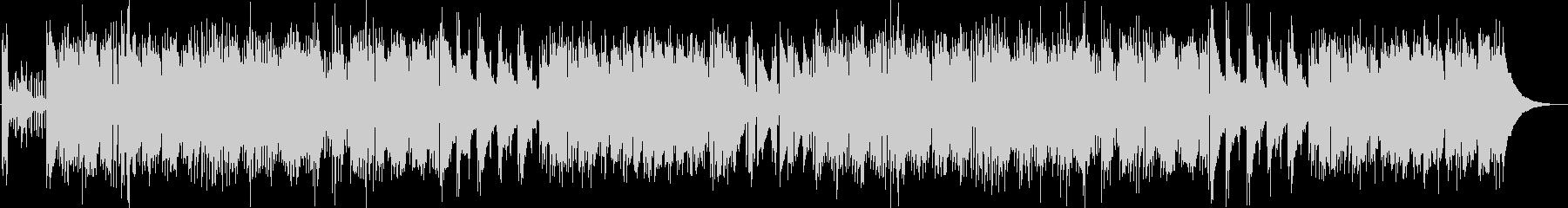 チープでポップなピアノジャズの未再生の波形