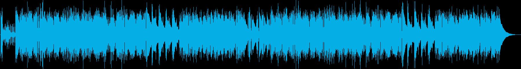 チープでポップなピアノジャズの再生済みの波形