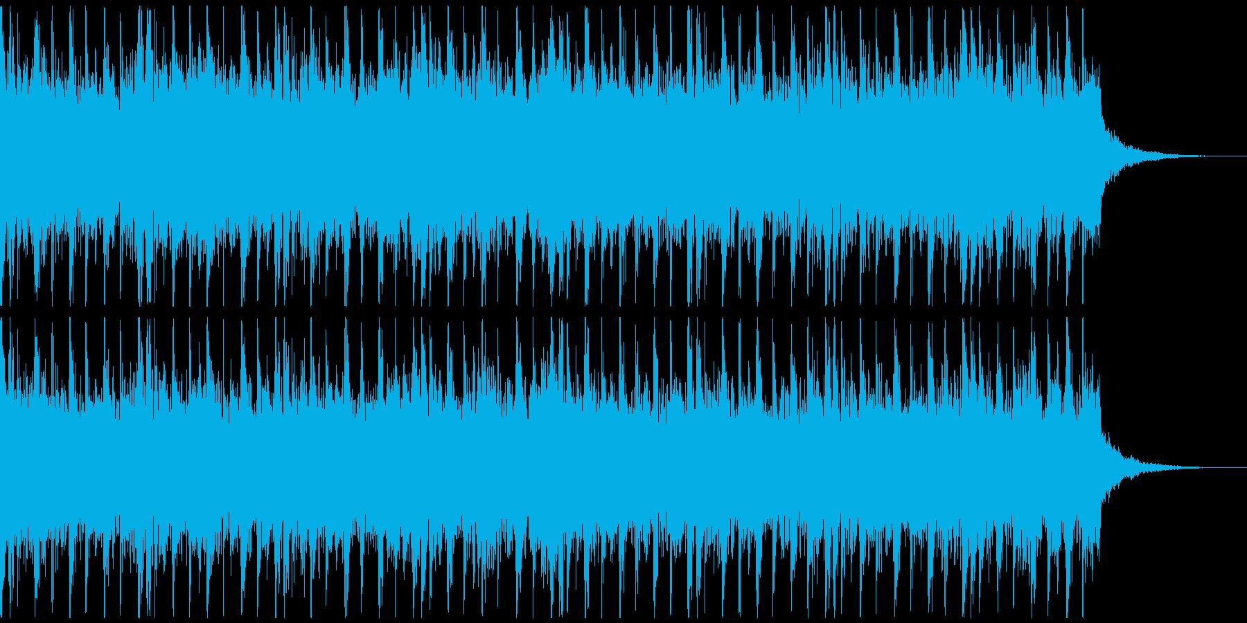 激しいラウドロック、予告、広告verAの再生済みの波形
