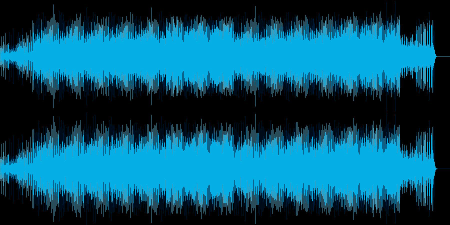 サスペンスドラマ風マイナーポップの再生済みの波形