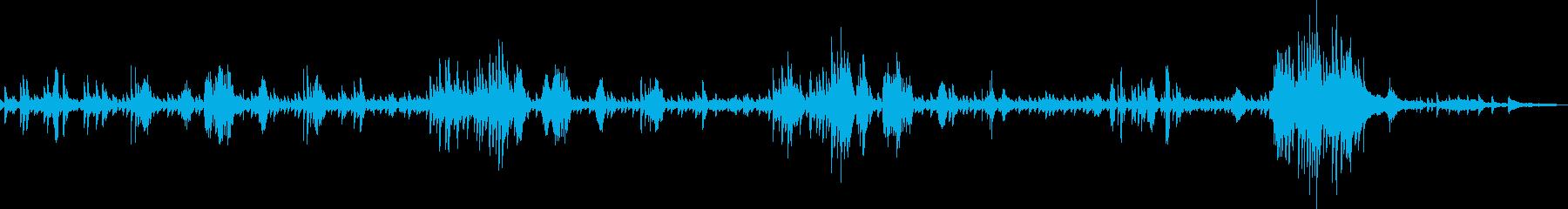 ショパン:ノクターン作品9-2の再生済みの波形