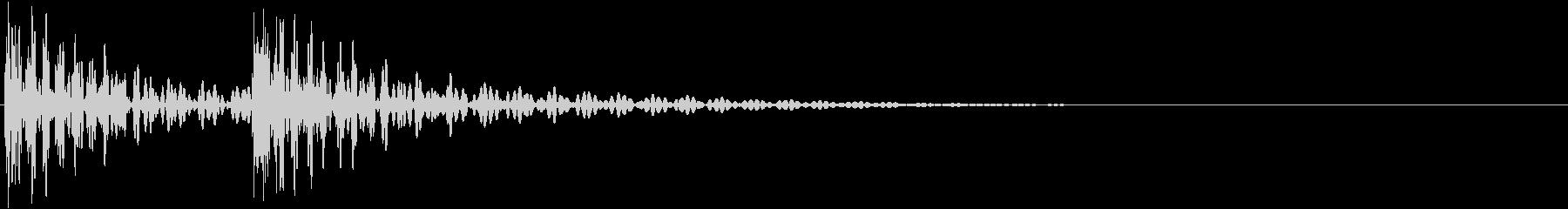 ポンポン(アクセント・太鼓で場面転換)の未再生の波形