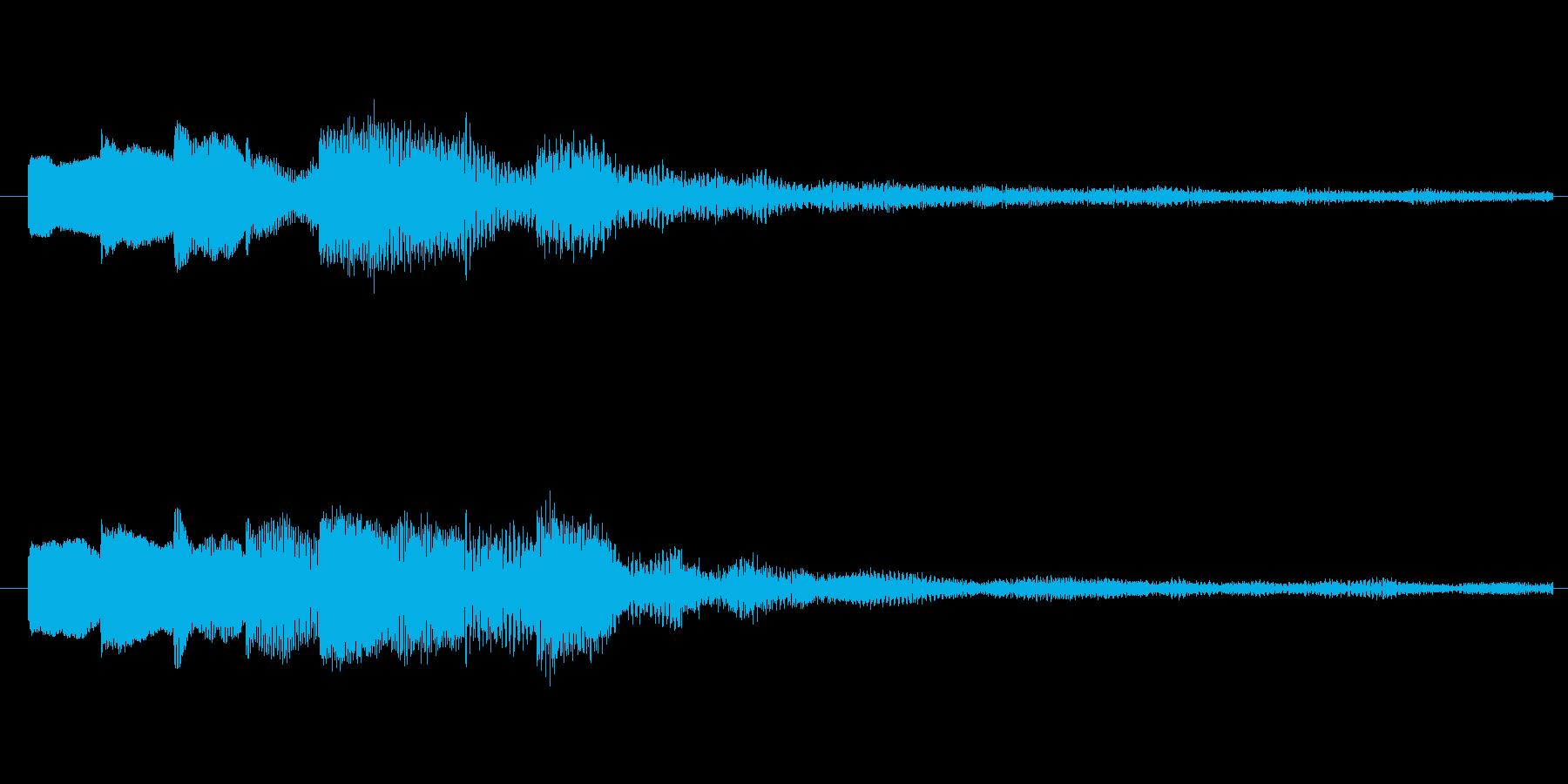 ピロリンリン♪メール受信音。の再生済みの波形