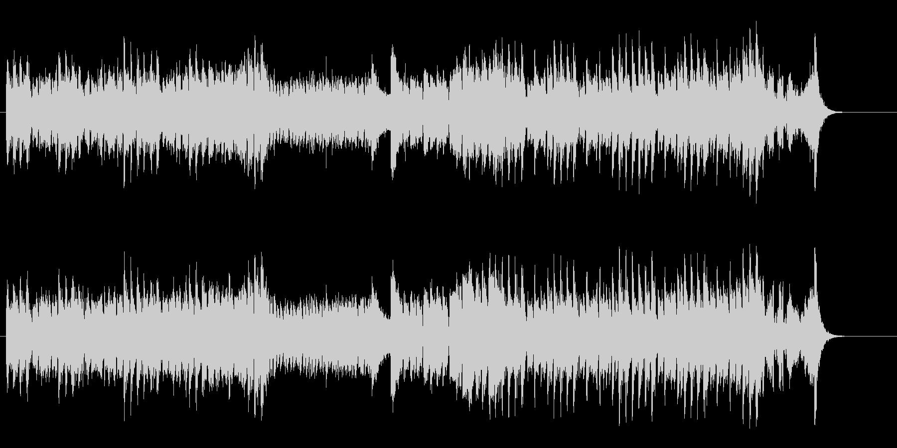 お茶目なスピード・コミカル・サウンドの未再生の波形