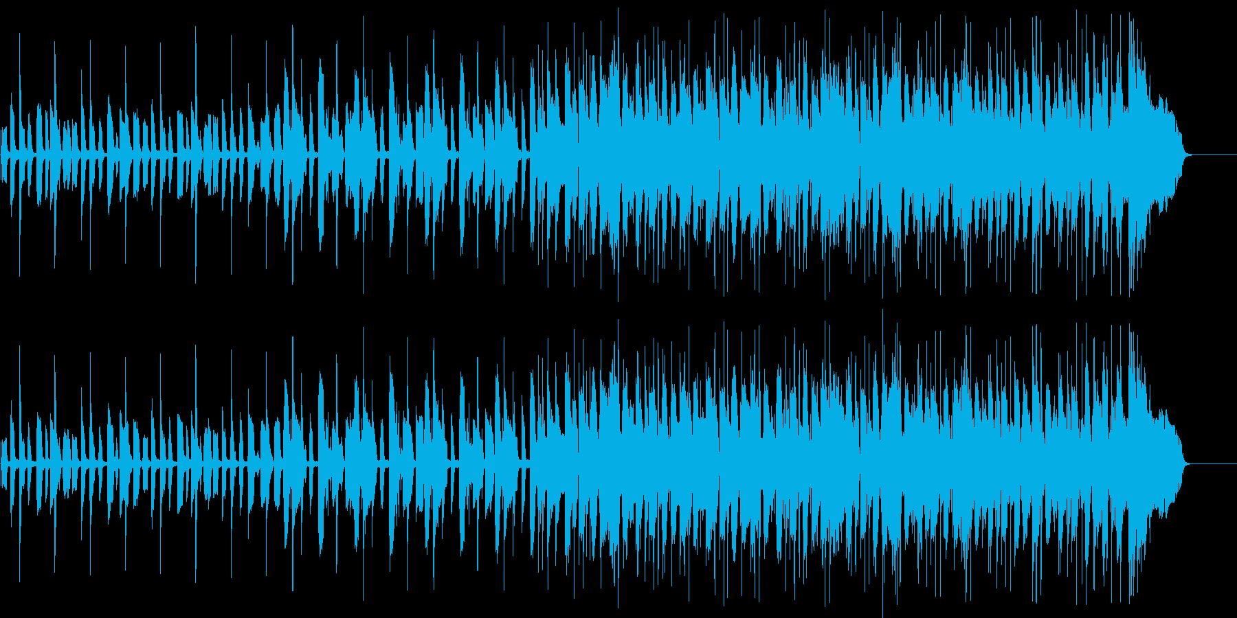 聞き馴染みのファンキーなエレピの再生済みの波形