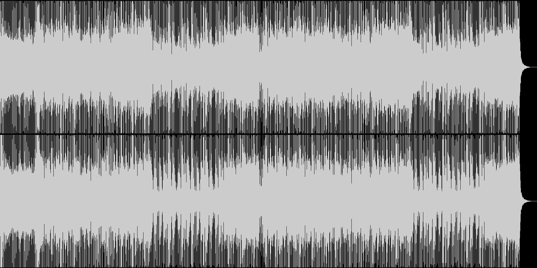 ロック/激しい/重い/バンド/派手の未再生の波形